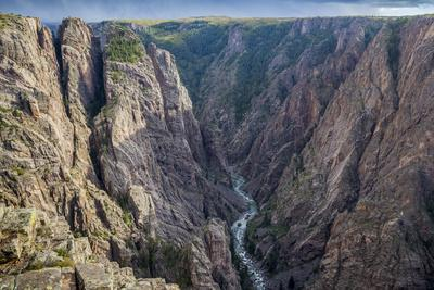 Colorado, Gunnison National Park. Scenic in Black Canyon