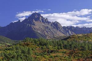 Colorado, Mount Sneffels. Mountain Landscape in Autumn by Jaynes Gallery