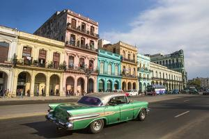 Cuba, Havana. City scenic. by Jaynes Gallery