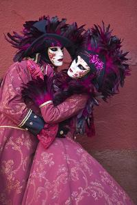Elaborate Costumes for Carnival Festival, Venice, Italy by Jaynes Gallery