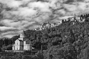 Europe, Italy, Montepulciano. Church of San Biagio at Foot of Town by Jaynes Gallery