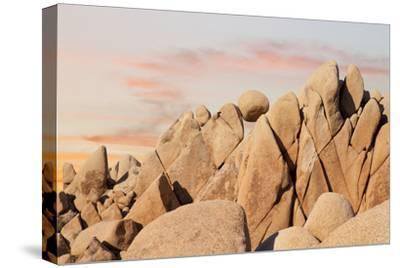 Geometric Rock Formation, Joshua Tree NP, California, USA