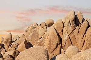 Geometric Rock Formation, Joshua Tree NP, California, USA by Jaynes Gallery
