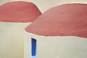 Greece, Kalymnos. Roofs of Greek Orthodox church. by Jaynes Gallery