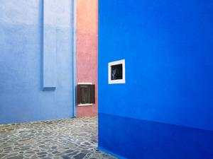 Italy, Burano. Colorful buildings. by Jaynes Gallery