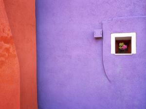 Italy, Veneto, Burano. Close-up of house wall. by Jaynes Gallery