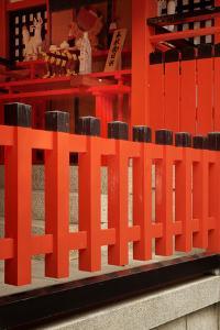 Japan, Kyoto. View of Fushimi Inari Taisha Shinto Shrine by Jaynes Gallery
