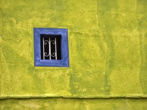 Mexico, Dolores Hidalgo. Window in side of house. by Jaynes Gallery