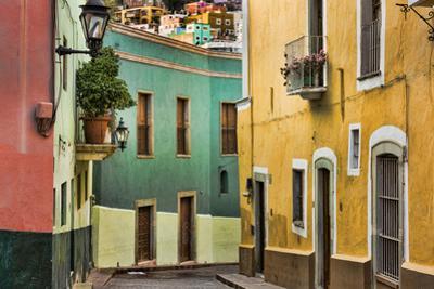 Mexico, Guanajuato. Street Scene by Jaynes Gallery