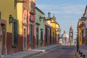 Mexico, San Miguel De Allende. Street Scene by Jaynes Gallery