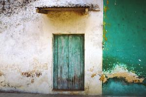 Mexico, Xico. House entrance. by Jaynes Gallery
