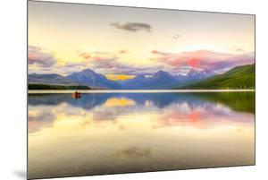 Montana, Glacier National Park. Lake Macdonald Landscape by Jaynes Gallery