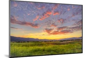 Montana, Missoula. Sunset on Ranch Club Golf Course by Jaynes Gallery