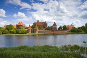 Poland, Malbork. Medieval Malbork Castle by Jaynes Gallery