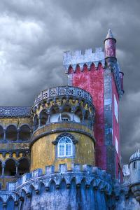 Portugal, Sintra. Detail of Pena Palace by Jaynes Gallery