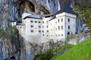 Slovenia, Predjama Castle. Castle built into mountain wall. by Jaynes Gallery