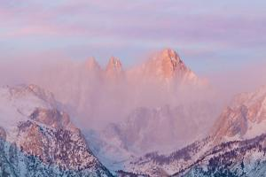 Sunrise on Mount Whitney, Lone Pine, California, USA by Jaynes Gallery