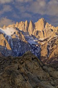 Sunrise on Mt Whitney, California, USA by Jaynes Gallery