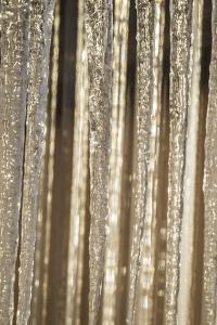 USA, Alaska, Fairbanks. Sun reflects on icicles. by Jaynes Gallery