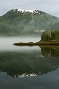 USA, Alaska. Morning Fog on Lake by Jaynes Gallery