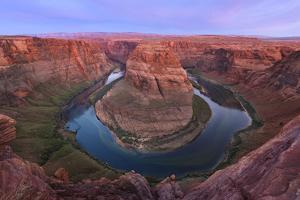 USA, Arizona. Colorado River flows around Horseshoe Bend. by Jaynes Gallery
