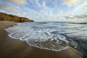 USA, California, San Diego. Beach at Sunset Cliffs Park. by Jaynes Gallery