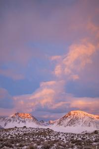 USA, California, Sierra Nevada Range. Sunrise on mountains. by Jaynes Gallery
