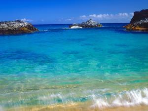 USA, Hawaii, Kauai. a Wave Breaks on a Beach by Jaynes Gallery