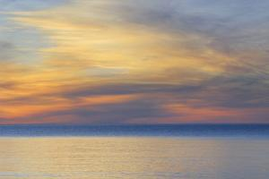 USA, Michigan, Upper Peninsula. Lake Superior Sunset by Jaynes Gallery