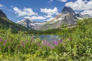USA, Montana, Glacier National Park. USA, Montana, Glacier National Park, Grinnell Point, Swiftcurr by Jaynes Gallery