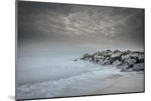 USA, New Jersey, Cape May National Seashore. Stormy beach. by Jaynes Gallery