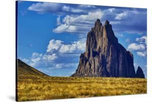 USA, New Mexico. Shiprock formation on Navajo Indian Reservation. by Jaynes Gallery