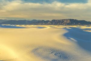 USA, New Mexico, White Sands NP. Sand dunes at sunrise. by Jaynes Gallery