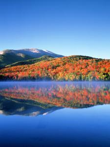 USA, New York, Adirondack Mountains. Algonquin Peak and Heart Lake by Jaynes Gallery