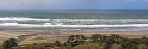 USA, Oregon. Coastal panoramic. by Jaynes Gallery