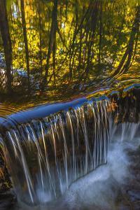 USA, Pennsylvania, Delaware Watergap Recreational Area. Dingmans Creek waterfall. by Jaynes Gallery
