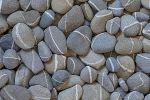 USA, Washington State. Rocks with white stripes. by Jaynes Gallery