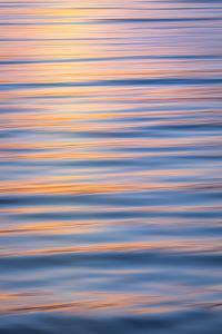 USA, Washington State, Seabeck. Hood Canal at sunset. by Jaynes Gallery