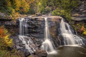 USA, West Virginia, Blackwater Falls State Park. Waterfall and forest scenic. by Jaynes Gallery