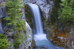 Washington, Mount Rainier National Park. Christine Falls Scenic by Jaynes Gallery