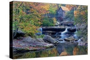 West Virginia, Babcock State Park. Glade Creek Grist Mill by Jaynes Gallery
