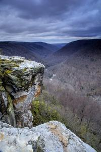 West Virginia, Blackwater Falls State Park. Landscape from Lindy Point at Sunset by Jaynes Gallery