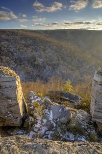 West Virginia, Blackwater Falls State Park. Landscape from Lindy Point by Jaynes Gallery