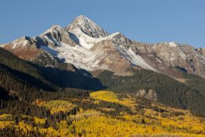 Wilson Peak on an Autumn Morning, San Juan Mountains, Colorado, USA by Jaynes Gallery
