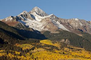 Wilson Peak on an Autumn Morning, San Juan Mountains, Colorado, USA by Jaynes Gallery
