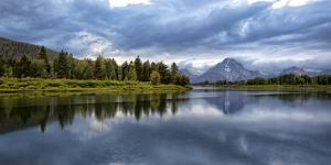 Wyoming. Oxbow Bend of the Snake River by Jaynes Gallery