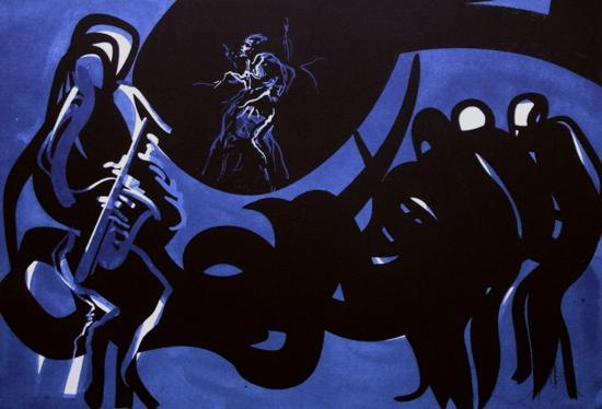 Jazz - Blue note-Raymond Moretti-Limited Edition