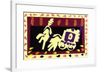 Jazz, c.1947-Henri Matisse-Framed Art Print