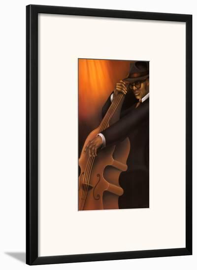 Jazz City IV--Framed Art Print