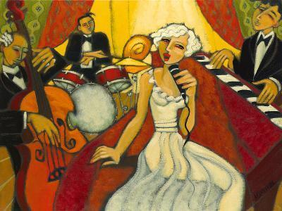 Jazz Diva Blanche-Marsha Hammel-Giclee Print